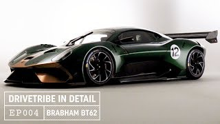 Brabham BT62 Hypercar - Enough downforce to drive upside down? | DriveTribe In Detail – Episode 04