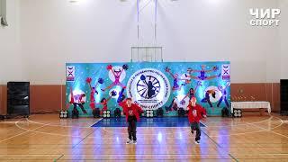 Чир Спорт 2021  - 062 - Комарова Диана, Рындин Богдан, United BIT, Ухта