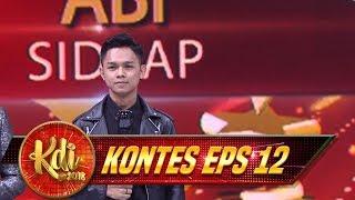 Membahana! Rame Banget Yang Nobar Abi Di Sidrap - Kontes KDI Eps 12 (21/8)
