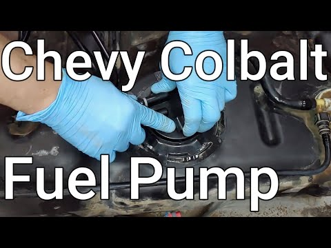 Chevy Cobalt Fuel Pump REPLACEMENT | FULL STEP-BY-STEP