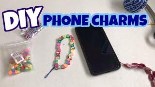 TRENDY PHONE CHARMS DIY | BEAD…