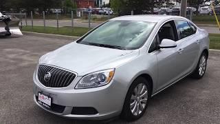 """Pre-Owned 2017 Buick Verano  CX 2.4L Auto 17"""" Wheels 4G LTE WIFI Oshawa ON Stock#B11892"""