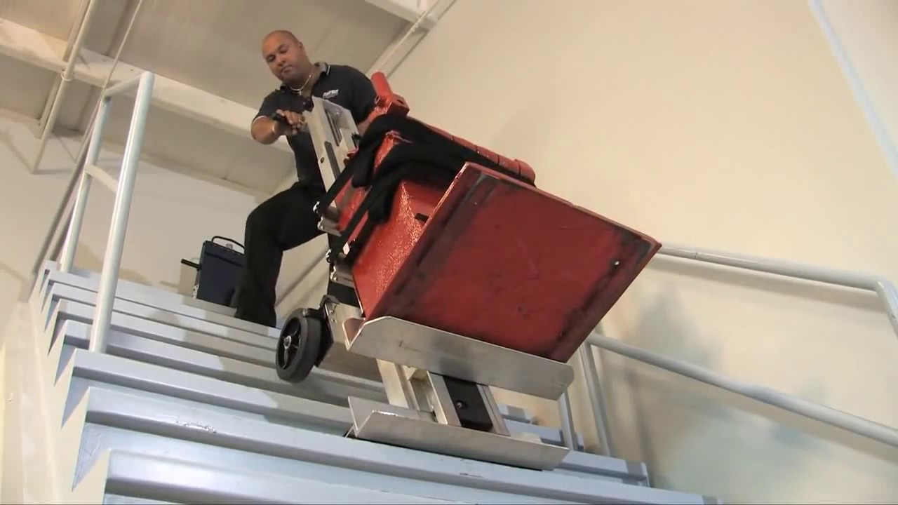 PowerMate Stair Climbing Hand Truck Moves Boilers Water