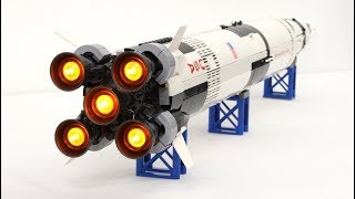 LEGO Saturn V with Light and Sound