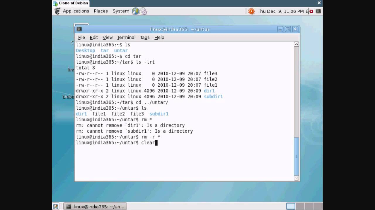 Tar and Untar Linux command - Tip1