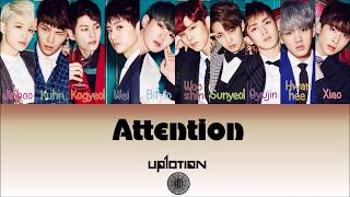 Video UP10TION (업텐션) - Attention (나한테만 집중해) (Color Coded [Han,Rom,Eng] Lyrics) - by Honey10tion Coded download MP3, 3GP, MP4, WEBM, AVI, FLV Maret 2018