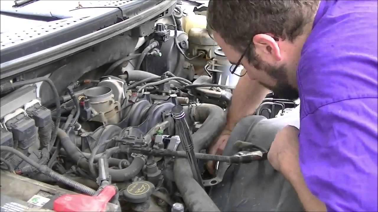 alternator replacement  ford      valve