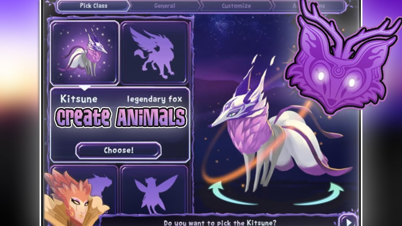 Download CREATE YOUR OWN ANIMALS IN FERAL