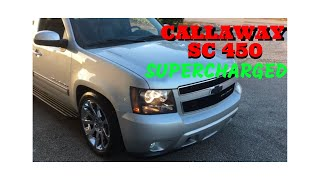 2013 Chevrolet Avalanche Black Diamond CALLAWAY SC 450 PACKAGE FOR SALE