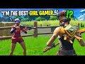 I met the BEST girl gamer in Fortnite random duos... (she works for Epic Games)