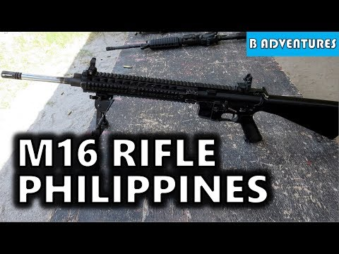 Piston AR Jams & M16 Rifle, Philippines S3, Vlog #32