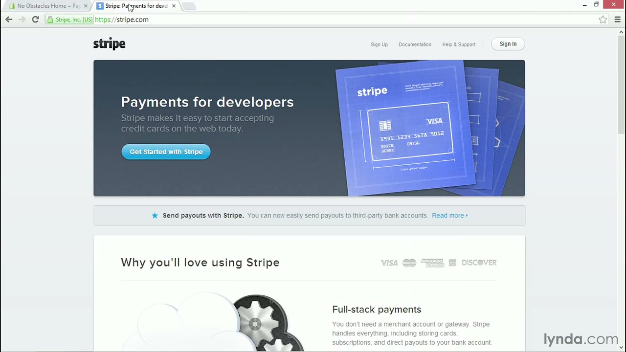 Shopify tutorial: Setting up payments with Stripe | lynda com