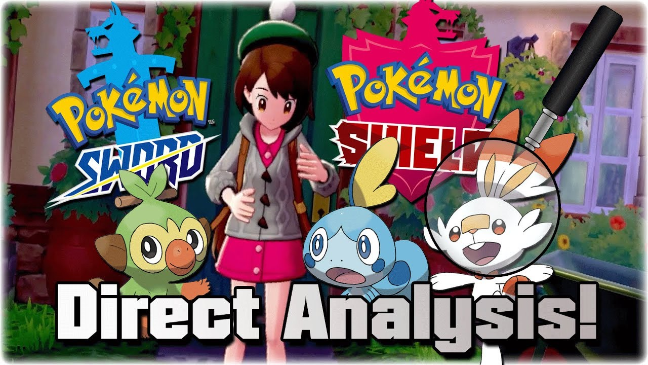 Pokemon Sword Shield Reveal Trailer Analysis Gyms Easter Eggs