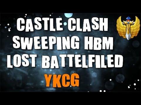 Castle Clash   HBM S Sweep, Lost Battlefile... !