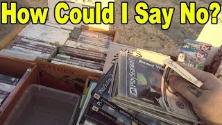 SCORE! It Was Worth MORE Than I Thought...  Live Flea Market/Yard Sales Hunting! Ep. 72