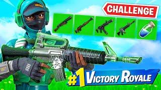 GREEN GUNS *ONLY* CHALLENGE in Fortnite!