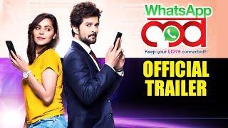 WhatsApp Love | Official Trailer | Raqesh Bapat | Anuja Sathe | Sareh Far | Marathi Movie 2019