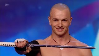 Alex Magala - Britain's Got Talent 2016 Audition week 1