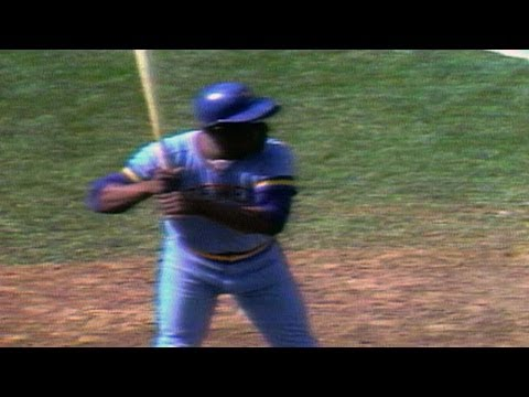 Hank Aaron hits his first career home run at Fenway Park in 1975