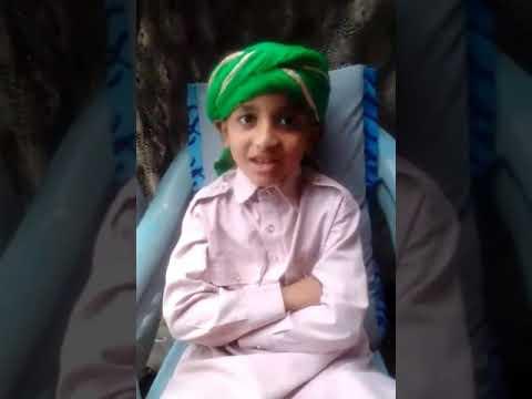 6 years boy by heart 40 hadees Mashallah