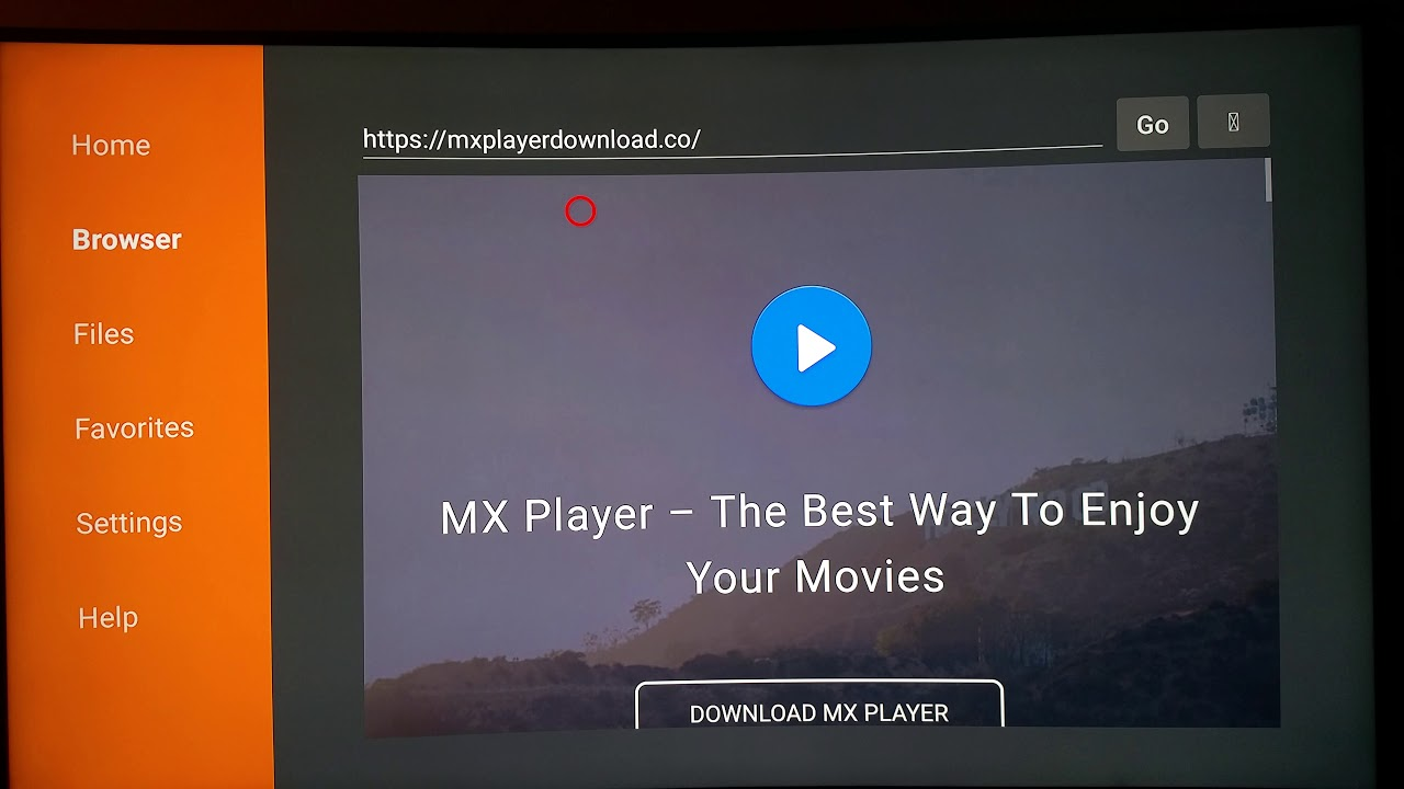 MX Player app firestick / fire tv install