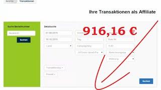 Evergreensystem Said Shiripour - Einnahmen Update über 916,16 €