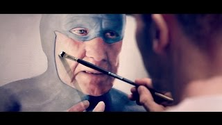 Superhero speed painting  - Music Video Art by Andreas Englund