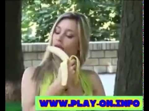 Blondine und Die Banane - Versteckte Kamera