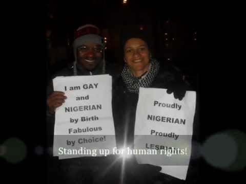 PROTEST RALLY Against Nigeria's Same Sex Marriage Prohibition bill