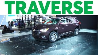 2018 Chevrolet Traverse Preview | Consumer Reports