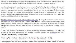 UTSA Business Finance Spring 2020 Class 19 Part 1