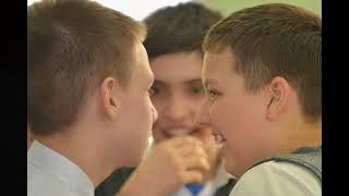 8 марта  Игорь с однокласниками