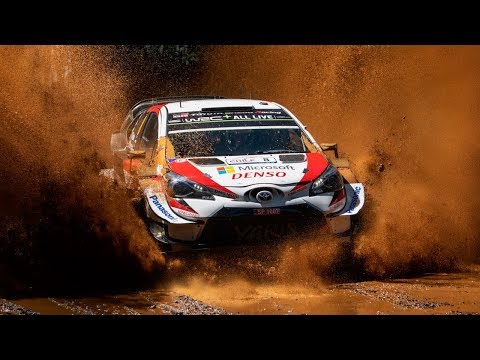 Triunfo de Tanak y espectacular accidente de Neuville - Rally de Chile - WRC