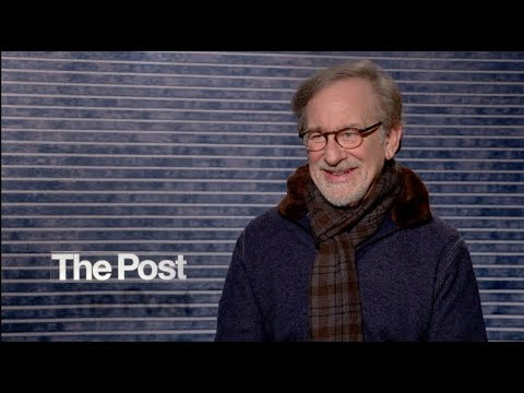 THE POST interviews - Spielberg, Paulson, Coon, Odenkirk, Rhys, Whitford, Letts