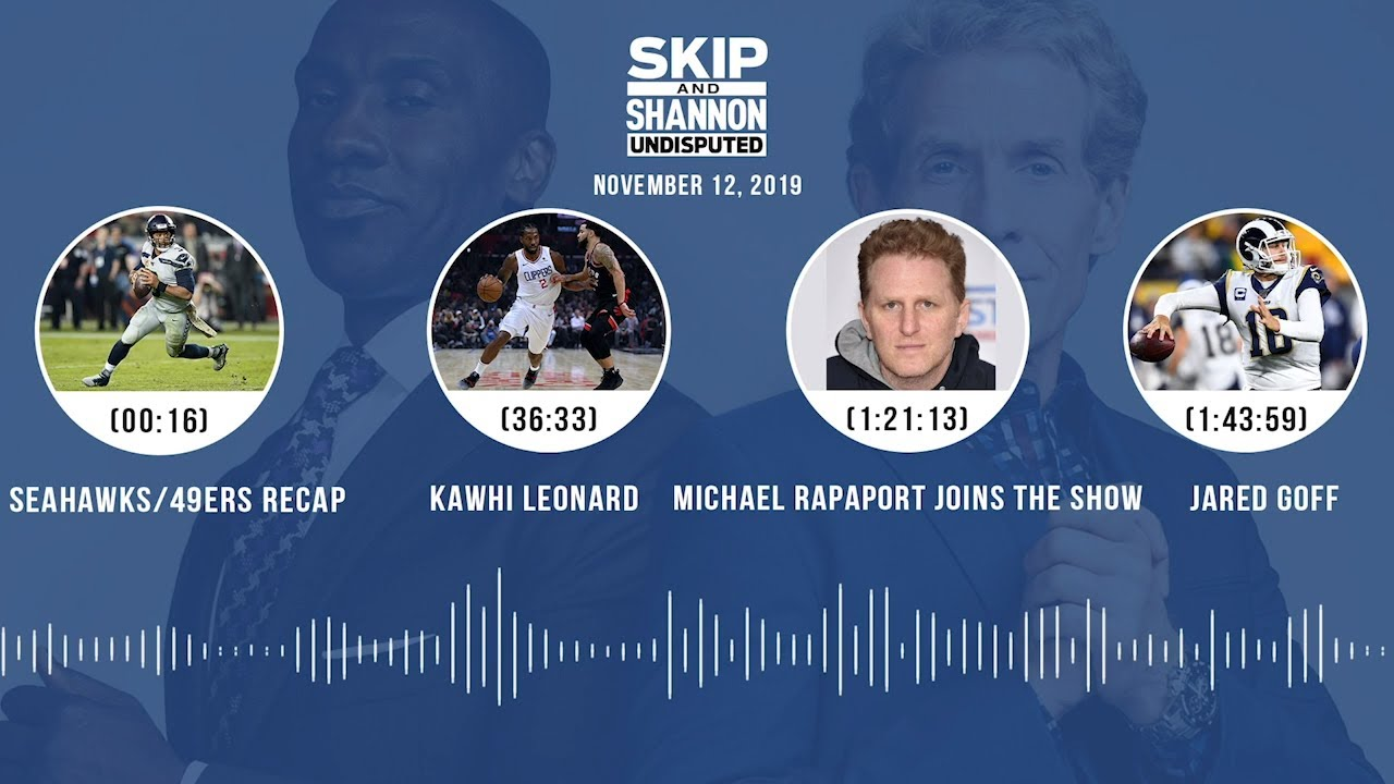 Seahawks/49ers, Cowboys, Kawhi Leonard, Michael Rapaport joins the show Audio Podcast