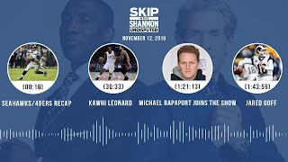 Seahawks/49ers, Cowboys, Kawhi Leonard, Michael Rapaport joins the show | UNDISPUTED Audio Podcast