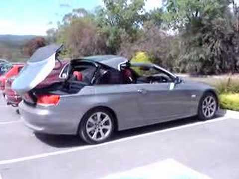 Bmw E93 Hardtop Convertible Roof Closing Youtube