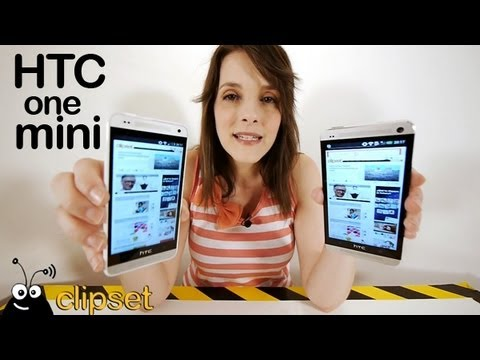 HTC One mini review vs HTC One Videorama