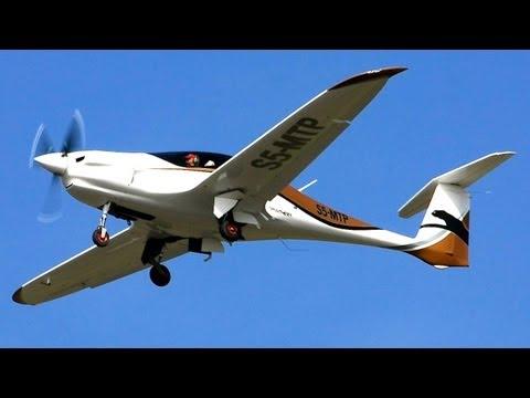 Pipistrel Panthera in Flight
