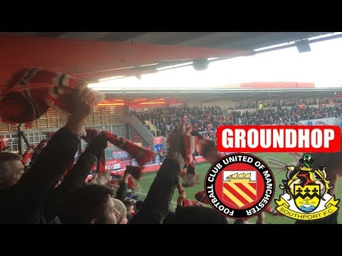 Groundhop FC United Of Manchester VS Southport/Broardhurst Park
