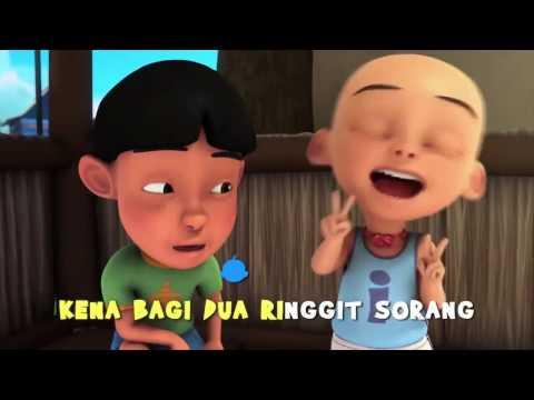 Upin Ipin Lagu  Pisang Goreng Ngap-Ngap, Bangau oh Bangau, dan Boria,  Digabung 3 Lagu