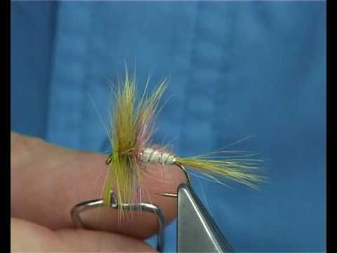 Tying the Mosely May Wulff (DryFly) with Davie McPhail