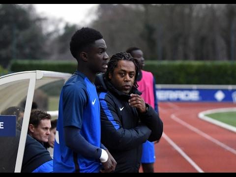 Equipe de France U18, jour de match