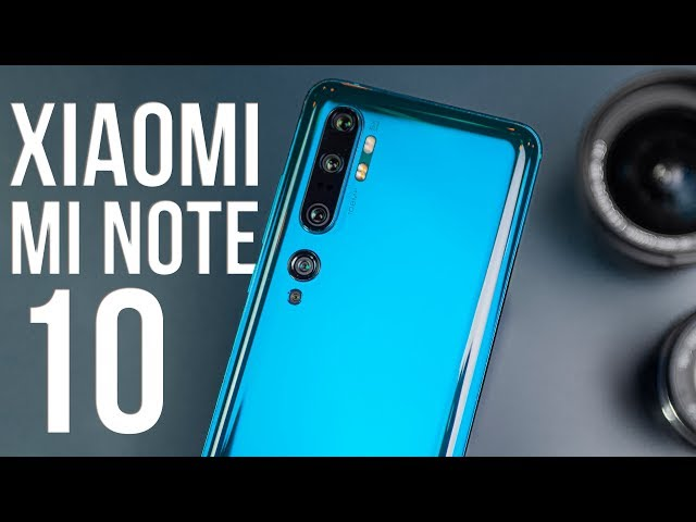 Xiaomi Mi Note 10 Обзор - ЭТО НЕВОЗМОЖНО!