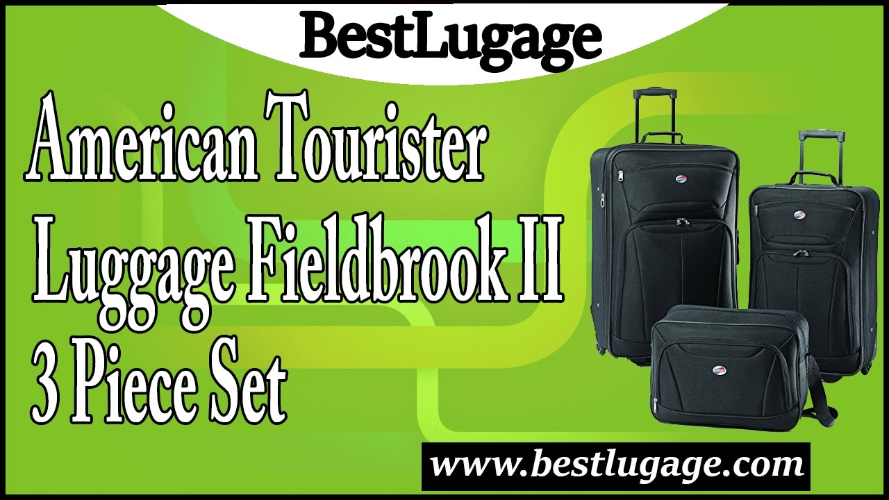 212ed4876 American Tourister Luggage Fieldbrook II 3 Piece Set Review - YouTube