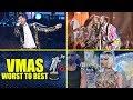 MTV VMAs 2018   Performances Ranked WORST to BEST