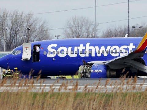 Southwest flight 1380 ATC Recordings Emergency Landing at Philadelphia