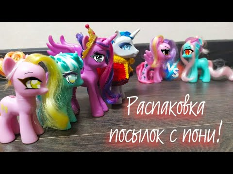 Распаковка 2 пони-посылок с 4 пони #3