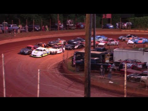 Winder Barrow Speedway Stock 4 Cylinders B's Feature Race 6/29/19