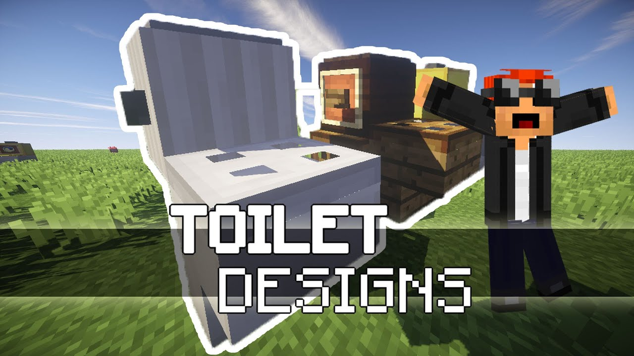 how to make toilet in minecraft